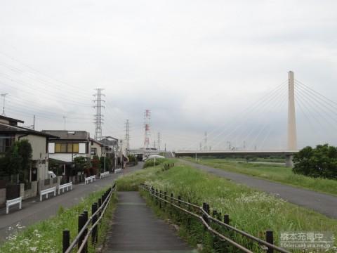 アニメ「一週間フレンズ。」第12話 背景探訪 多摩川~聖蹟桜ヶ丘