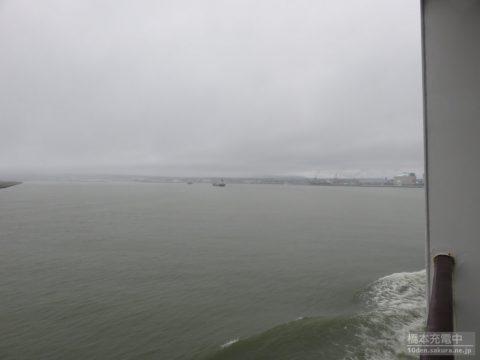 シルバークィーン 八戸港