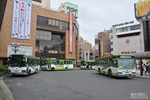 盛岡駅前バス乗り場