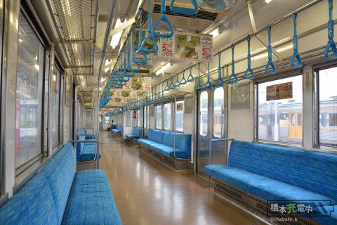 豊橋鉄道1800系 車内