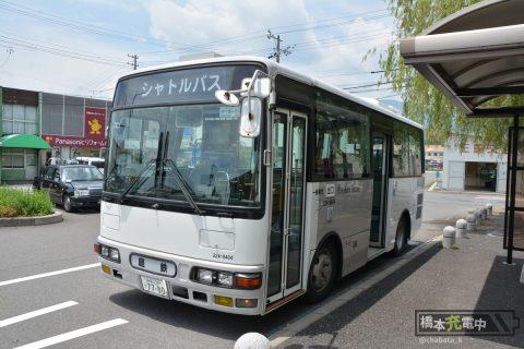 阿下喜駅 丹生川駅行きシャトルバス