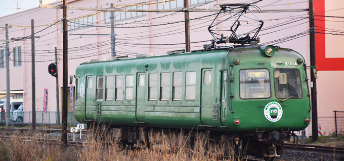 熊本電鉄5000形 2016年1月