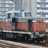 2017夏の中京遠征(5)DD13風ディーゼル機関車ND552 16の貨物入換を観察する