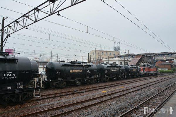 富田駅 DD51+タキ1900