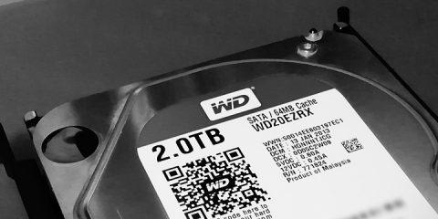 5年10ヶ月使用したHDDが動かなくなりました