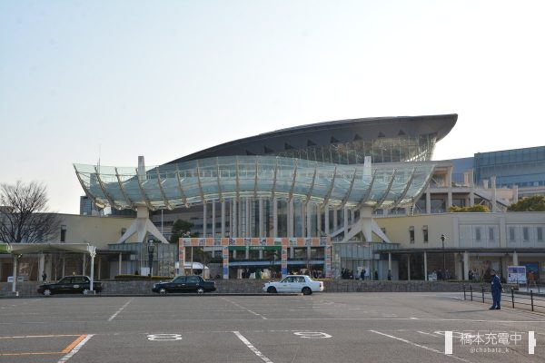 小倉競馬場入場門(駐車場側)