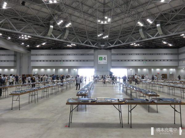 コミックマーケット96 設営作業