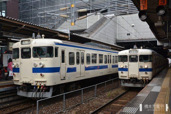 小倉駅 415系