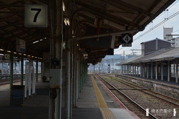 下関駅ホーム