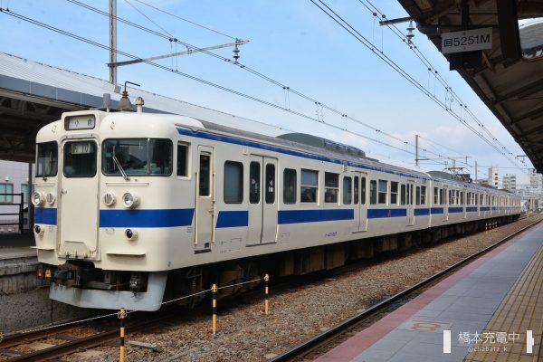 下関駅 415系