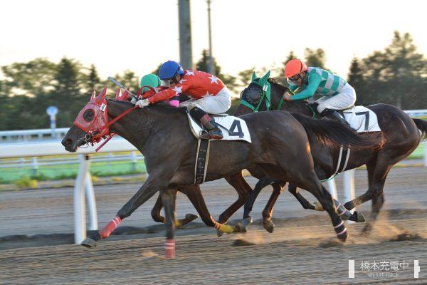 2019/09/12 門別6R ホクレン「う米豚」賞2歳牝馬未勝利