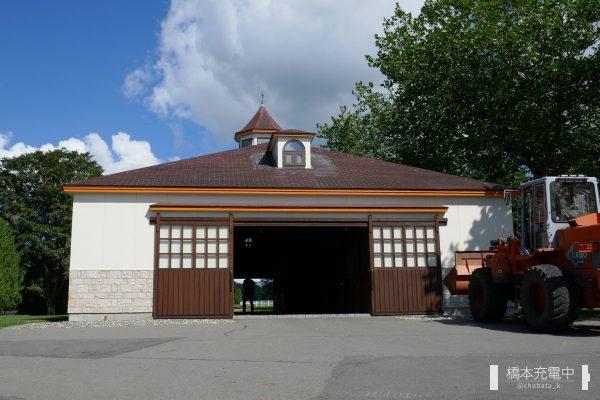 新冠町 ビッグレッドファーム明和 馬房