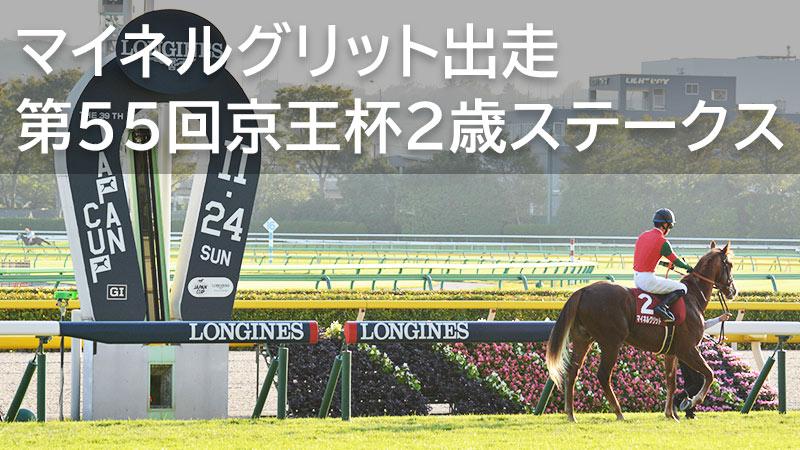 マイネルグリット東京競馬場に初参戦 第55回京王杯2歳ステークス