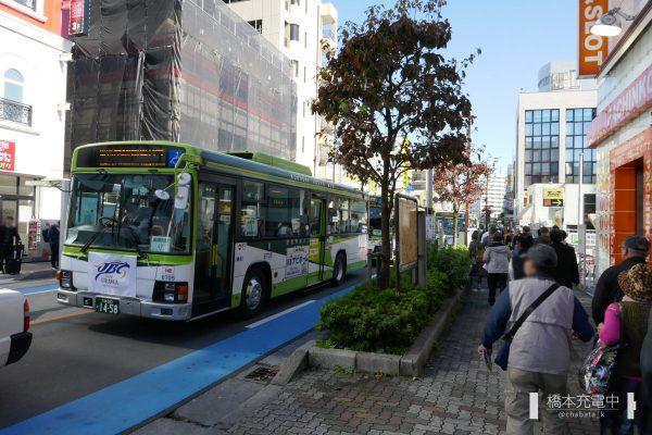 南浦和駅-浦和競馬場シャトルバス 国際興業バス