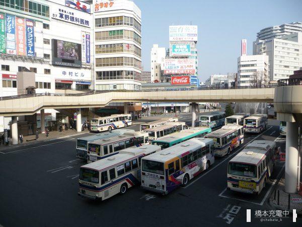JR水戸駅前