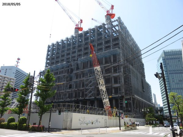 都産貿浜松町館(2018年5月)